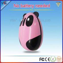 2.4g Pink Cute shenzhen computer accessories factory wireless optical panda mouse