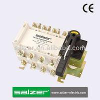 Salzer Brand SPL-160-4P AC Manual Change Over Switch