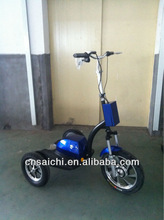 Zappy three wheel electric scooter with rear wheel drive, ES-064