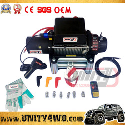 ON SALE Wholesale 4x4 truck Portable Electric Winch Mini 24V/12V electric winches for 4x4
