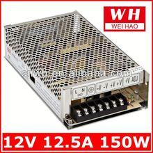 12V 12.5A AC to DC single output transformer S-150-12 power transformer 220 110