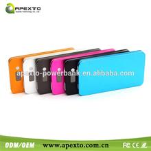 Super Slim Power Banks portable power bank for digital camera for iphone