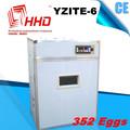 卸売価格352個の卵販売のためのアヒルの卵のインキュベーターyzite- 6ce認定品を使用