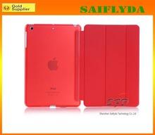 Hot selling PU Leather Case for iPad Mini Smart Cover Case for iPad Mini
