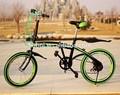 2014 venda quente 20 polegada moda duplo dobrável bicicleta