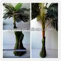 Natural Artificial decoración exterior de la palmera