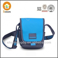 Military aolundo brown leather messenger bag