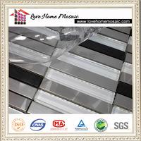 special sliver raised metal flooring tiles ,kitchen backsplash tile