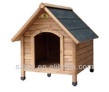 Wooden Dog House Outdoor Dog House SDK-002
