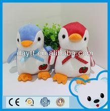 Carrefour supplier plush soft penguin toys funny penguin
