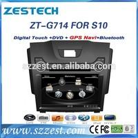ZESTECH Central multimedia system radio gps for Chevrolet S10