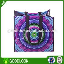 shopping plastic bags advertising eco bag