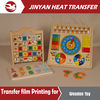 heat transfer film for wood printing