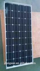 China factory 85w monocrystalline solar panel module,TUV certificate solar panels