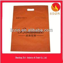 2014 fashion High quality Packaging gift bag fashion d cut nonwoven bag