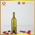 2014 venda quente tampa parafuso colorido 750ml vermelho vinho garrafas de vidro