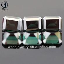 152# spinel corundum emerald cut synthetic tourmaline