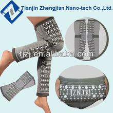 New fashion magnetic tourmaline long knee wraps ZJ-S002LET