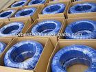 Polyethylene extruded blue LLDPE tube