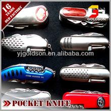Hot selling multi function stainless steel pocket knife