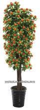 2015 New Designed Big Popular Artificial Orange Tree