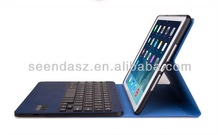 New design bluetooth keybaord for ipad air,ultra-thin keyboard case for ipad mini,emboassed keyboard for apple ipad