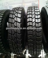 Retread truck tyre, recap tyre