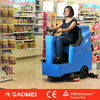 R-QQ CE approved automatic mini ride on floor scrubber