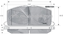 auto parts manufacturer about brake pads for toyota