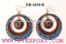 Earrings Hoop Beaded Necklaces