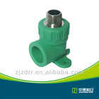 GB standard ppr seated male elbow ppr pipe fitting