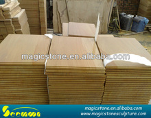landscaping stone slab suppliers yellow wood vein sandstone