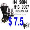 h4 h13 9004 9007 hid bi-xenon bulb $ 7.5/pair