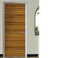 El último diseño de la puerta de madera