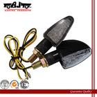 BJ-SL-014 2x 14 Small Short LED Amber Motorcycle Motorbike LED Turn Indicator Signal Lamp Lights