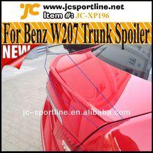 E-Class W207 Trunk Spoiler For Mercedes Benz C207 W207 Coupe E350 E550 Cabriolet 2010~2012