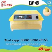 Incubadora nueva transparente aprobados por la CE incubadora de huevos completamente automático de piezas de repuesto para la venta