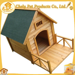 Waterproof And UV Proof Large Wooden Dog Kennel For Sale
