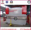 WC67K-160x3200 CNC hydraulic steel plate press brake