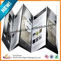 El papel de promoción cosméticos prospecto, manual de papel hecho en china