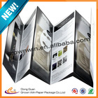 Promotional paper cosmetic leaflet ,paper manual made in China