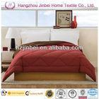 Chocolate Red down alternative comforter/Microfiber quilt/Polyester duvet