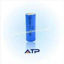 Cylinder car alarm remote battery 3.7V 1500mah li ion battery 18500