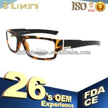 les nouvelles lignes jaune transparent verres optiques