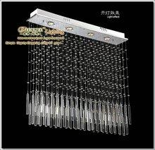 Latest Design Crystal Ceiling Light Fixture 4 Lights Contemporary Pendant Light Fixture 518