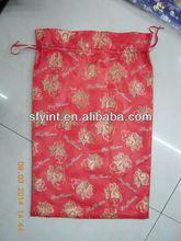 delicate christmas organza gift bag pouches