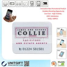 Mobile phone display cleaner