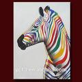 أزياء قماش الرسم 2014 زيبراكحد لون جميل لتزيين جدار الفن صور