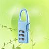 Metal Cute Mini 3 Digit Combination Luggage Lock for Locker