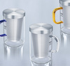 SAMADOYO High Quality Heat-resisting Flower Glass Tea cup Infuser on sale in Guangzhou